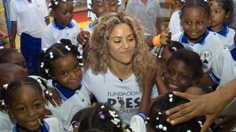 La cantante Shakira, a por las causas patriotas.