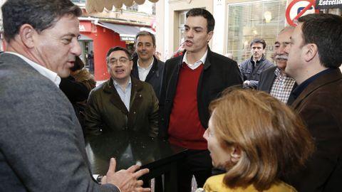 Visita de Pedro Sánchez a A Coruña