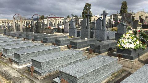Zona de enterramientos de las Hijas de María