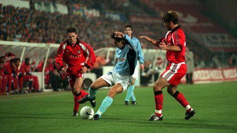 Mostovoi, en el mítico 7-0 al Benfica