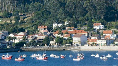 Corcubión, con un pequeño y acogedor casco histórico