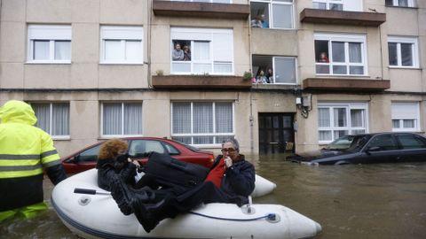 Inundaciones en Sada.