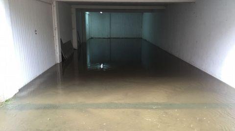 Inundación en Urbanización Pazo de Arenaza Lluvias e inundaciones en A Coruña y comarca