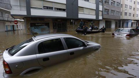 Graves inundaciones en Sada