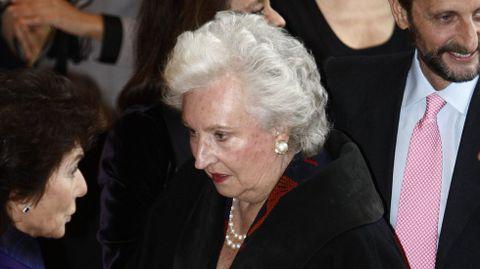 La infanta Pilar de Borbón, hermana del rey Juan Carlos y tía de Felipe VI, aparece como presidenta y administradora desde 1974 de la sociedad panameña Delantera Financiera S.A., que se abrió en agosto de 1974 y fue disuelta el 24 de junio del 2014
