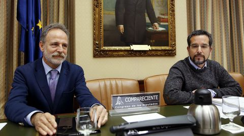 Sergio Pascual, durante su comparecencia en la Cmisión de Fomento del Parlamento