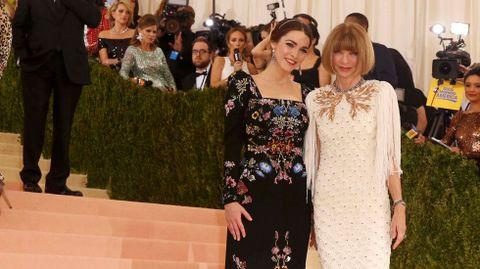 La editora de «Vogue» Anna Wintour y su hija Bee Shaffer.