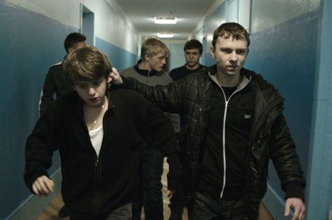 La violencia, como en las películas de Haneke, es uno de los temas centrales del filme
