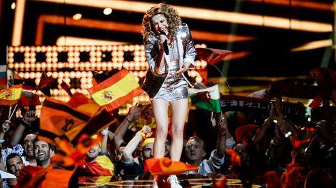Laura Tesoro, la cantante de Bélgica.