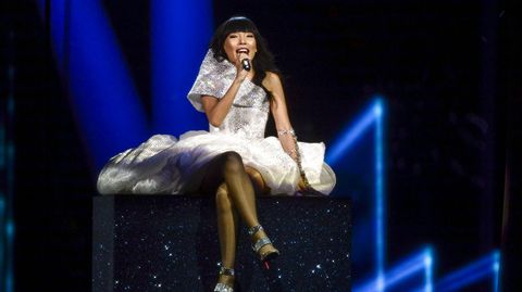 Dami Im, de Australia, invitada en Eurovisión.