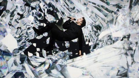 La actuación del ruso Lazarev, la más espectacular.