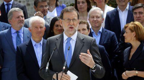 Rajoy, el martes en Madrid