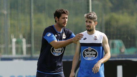 Con Luisinho en julio del 2015.