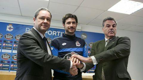 El día que se firmó su renovación.
