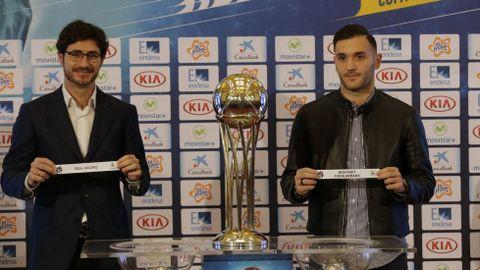 En el sorteo de la Copa del Rey de baloncesto.