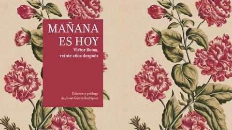 Portada del nuevo libro dedicado a Víctor Botas por la Universidad de Oviedo
