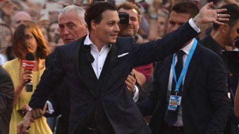 Johnny Depp con 42,5 millones de euros