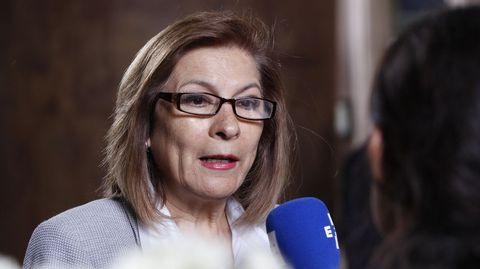 La activista Isabel Miranda.