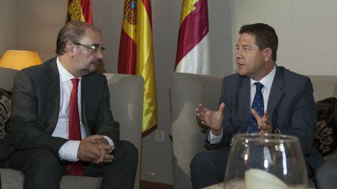 Lambán y García-Page (derecha).