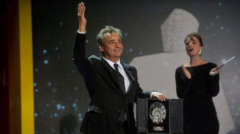 Eduard Fernández, con la Concha de Plata al mejor actor