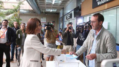 La candidata de Ciudadanos, Cristina Losada.