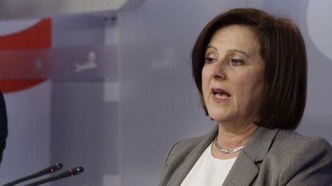 María José Sánchez, Secretaria de Sanidad del PSOE