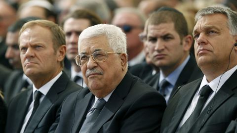 La presencia de Mahmud Abas en Jerusalén no se confirmó hasta el último momento