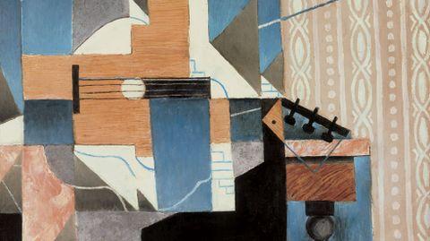 Juan Gris, «La guitare sur la table» (1913)