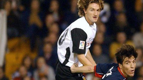 Frente al Valencia logró el último, el 29 de octubre del 2003