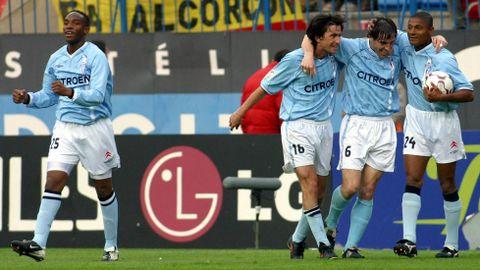 Un gol de Berizzo dio la victoria al Celta en el Calderón el 16 de marzo del 2003