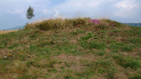 Outro túmulo do extenso conxunto do monte de Santa Mariña