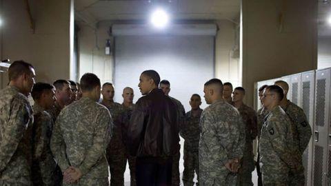 Arengando a las tropas estadounidenses en Afganistán