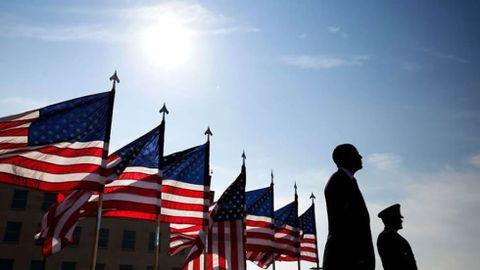 Ceremonia en el Pentágono