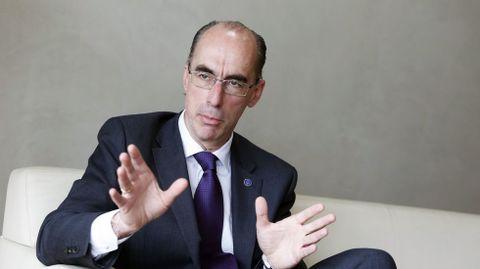 Jesús Vázquez Almuiña, conselleiro de Sanidade