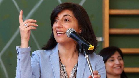 Ángeles Vázquez, conselleira de Medio Ambiente, Territorio e Vivenda