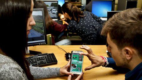 Los estudiantes de bachillerato usan fotogrametría en TIC para crear imágenes virtuales del patrimonio local