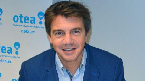 El presidente de Otea, José Luis Álvarez Almeida