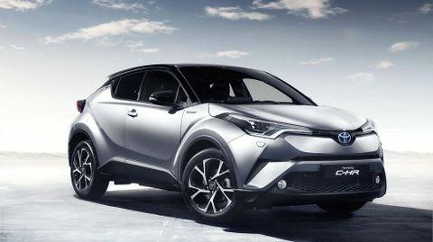 El nuevo Toyota Crossover C-HR.El nuevo Toyota Crossover C-HR