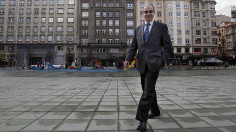 Antonio Couceiro,  nuevo presidente de la Cámara de Comercio