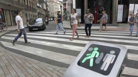 El paso de peatones de la plaza Galicia pasará a la historia