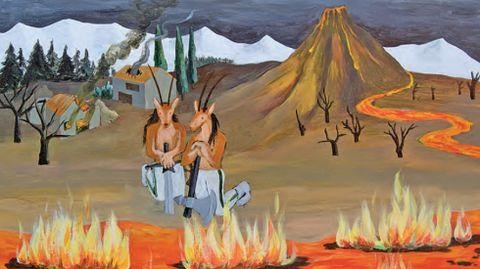 Santi Lara, «Tres jornadas dentro de la montaña»