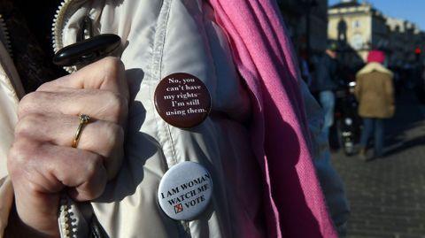 Manifestación en Burdeos