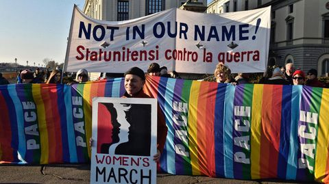 Protesta en Florencia