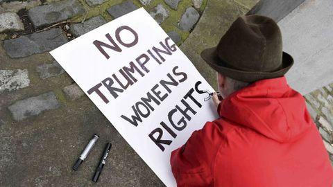 Protesta en Dublin