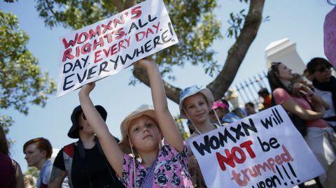 Protesta en Ciudad del Cabo