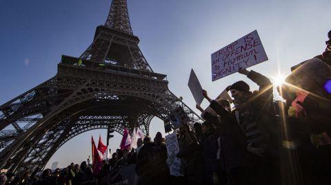Las protestas en París