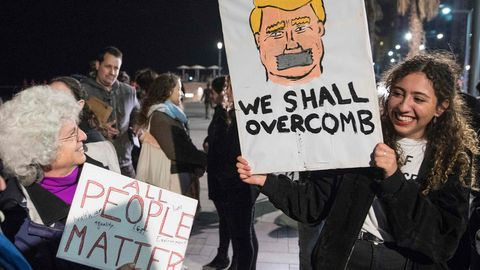 Protesta en Tel Aviv