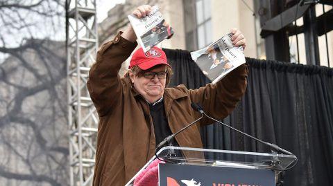 Michael Moore, en Washington
