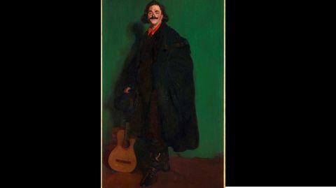 Ignacio de Zuloaga. «Buffalo, Señor de Montmartre»