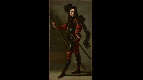 Francisco de Zurbarán. «El Infante P. Bustos de Lara» (hacia 1640-1645)